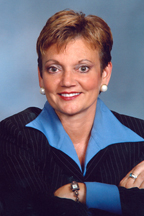 Photograph of  Senator  Debbie DeFrancesco Halvorson (D)