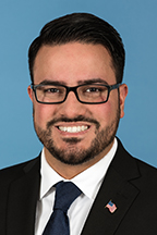 Photograph of  Senator  Omar Aquino (D)