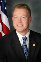 Photograph of  Representative  Brandon W. Phelps (D)