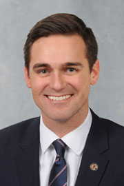 Photograph of  Representative  Nick Sauer (R)