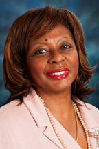 Photograph of  Senator  Mattie Hunter (D)